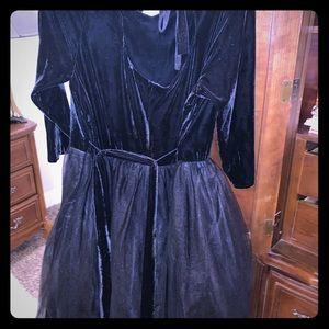 Black Vintage Party Dress